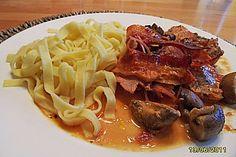 Italienisches Schweinefilet aus dem Römertopf