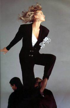 80's Supermodel Glam…1987 Versace, Spring Collection    Richard Avedon