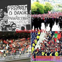 """""""Preparem o dragão para receber o campeão.""""⚪🔴 #CarregaBenfica #FCPSLB #Clássico #SejaOndeFor #AmoTeBenfica #benficamcmiv #SemprePresentes #rumoavitoria #ATuaHistóriaSomosNós #OBenficaÉNosso #Benfica #invasão"""