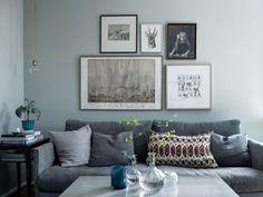 A gray interior