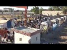 Kürd Gençleri İşid Çetelerine Karşı Durmak İçin Sınırları Delip  Kobane'...