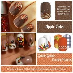 Here are some easy ways to get those fabulous designs without all the mess! Korikovacs.jamberry.com