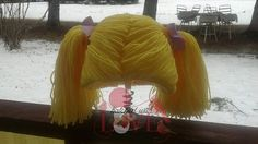 Cabbage patch blond