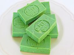 Soap Samples  Cucumber Mint Soap Samples  by AromaScentsLLC