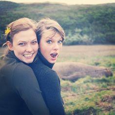 karlie taylor instagram photos5 BFFs Karlie Kloss & Taylor Swift Take a California Road Trip
