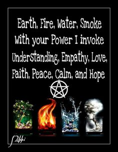Witchcraft!     Don't worry ...the pentagram is used as a symbol of the element of earth NOT the devil. (-: