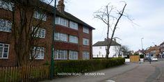 Harrow Road. Monks Park Wembley