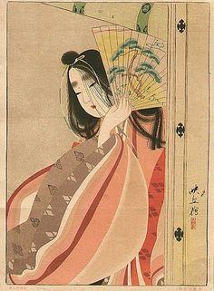 Ladies with Fan Japanese Ukiyo-e Prints ~ Blog of an Art Admirer