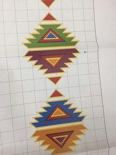 seccade 2 123 Cross Stitch, Cross Stitch Flowers, Cross Stitch Embroidery, Hand Embroidery, Cross Stitch Patterns, Weaving Designs, Vintage Cross Stitches, Prayer Rug, Bargello