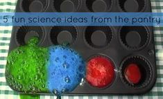 For Mad Science lab - 5 easy projects from the pantry
