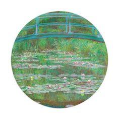 The Japanese Footbridge Paper Plates  sc 1 st  Pinterest & Faux Porcelain Round Gold Dinner Paper Plates | Chandler Turns 1 ...