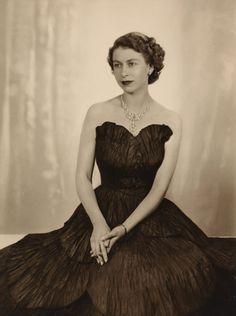 Queen Elizabeth II, looking so lovely.
