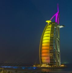 # Burj Al Arab, Dubai #travel  #burj