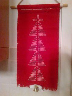 Erinomainen työ! Vaatii paljon ponnistelua avaruudellisen hahmottamisen vaikeuksien kanssa painiskeleville oppilaille. Helposta ulkonäöstään huolimatta ei ole mikään pieni välityö. Alakoulun aarreaitta FB -sivustosta / Kaija Sälevä Christmas Crafts, Xmas, Christmas Tree, Crafts For Kids, Arts And Crafts, Swedish Weaving, Art School, Textile Art, Handicraft