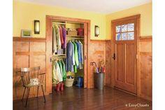 Coat Closet-Home and Garden Design Ideas