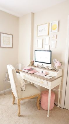 Beauty and Office Room Tour Fall 2015