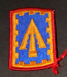 108th Air Defense Artillery Brigade  United States Army Patch Shoudler Patch Collectible to wear or us as a prop or just collect  http://www.rarevintagecollectibles.com