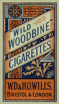 Props: (D@L) Wild Woodbine Cigarettes Packet - W.D.& H.O.Wills...