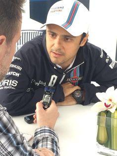 Meet the Press w/Felipe Massa for the Formula 1 Grand Prix du Canada