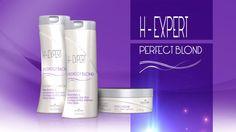 Os fios loiros precisam de cuidados redobrados. O desamarelador H-Expert remove pigmentos amarelados dos cabelos descoloridos ou tingidos de loiro, deixando-os macios, com brilho e hidratados. Benefícios: Desenvolvido com pigmento violeta, que neutraliza os tons amarelados indesejados, e extrato de camomila, que fornece luminosidade aos fios, a fórmula de PERFECT BLOND possui filtro solar para maior proteção da fibra capilar.