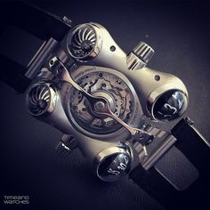 The back side of the Horological Machine No. 6 by MB&F.