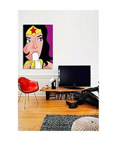 Wonder-Banana Gallery-Wrapped Canvas Print (Multi)