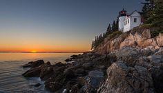 Acadia in October - Stunning. Scott Kelly, Landscapes, October, Celestial, Sunset, Water, Photos, Outdoor, Paisajes