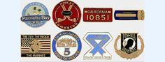 Promotional hard enamel badges