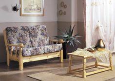 #Divano 2 posti in legno di pino, per arredare gli ambienti con i tradizionali mobili rustici. #mobili #arredamenti #divani #salotti #poltrone #OFFERTE #PROMOZIONI Demar Mobili. www.demarmobili.it
