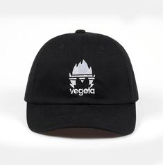 fdafdab94d9 100% Cotton Embroidery vegeta Dad Hat Bone Baseball Cap Casquette Hat  Snapback Caps For Men Women Custom Hats drop shipping