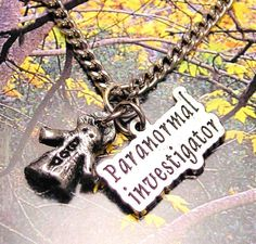 Paranormal Investigator  ghost  necklace by MyTinyTemptations, $9.99