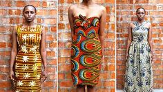Dresses from the Piso Collection by Liberian Sisters Chara and Phyllis Itoka