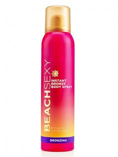Victoria's Secret Beach Sexy Flawless Airbrush Instant Bronze Body Spray produces an even, natural glow and was our top pick for temporary self-tanners. Safe Tanning, Best Tanning Lotion, Tanning Tips, Tanning Bed, Tanning Products, Just Natural Products, Best Self Tanner, Perfume, It Goes On