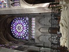 Basilique de Saint Denis, the final resting place of the Kings and Queens of France. These are my kings :)