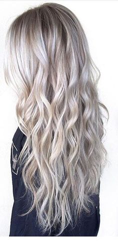 Silver hair color 291 silver hair hair coloring and hair type as Blonde Color, Grey Blonde Hair, Blonde Highlights, Ash Blonde Balayage Silver, Cool Toned Blonde Hair, Toning Blonde Hair, Neutral Blonde, Light Ash Blonde, Lilac Hair