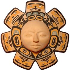 Chilkat Sun Mask by Glen Rabena