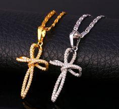 Luxury Cross Necklace Pendant