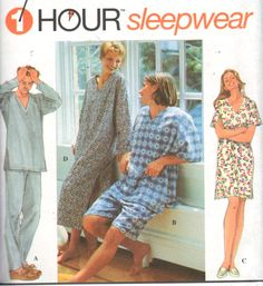 Unisex/Misses/Mens/Teen Pajamas, Simplicity 9391, 1 Hour UNISEX Sleepwear pattern, UNCUT. https://www.etsy.com/listing/237979660/simplicity-9391-sz-xs-med-1-hour-unisex?ref=shop_home_active_18