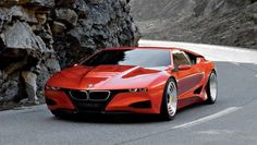 """2008 BMW M1 Homage Concept - Built to pay tribute to the swoopy 1972 BMW Turbo concept and 1978 M1 production supercar, a number of the lines seen on this car have made it onto the production i8 sports car. BMW says, """"It succeeds in harmoniously blending the proportions and styling cues of the BMW M1 with the surface language seen in the new BMW design line."""""""