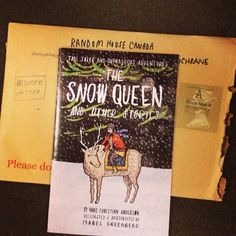 We get the best mail here! Thanks @issygreenberg for sending us your Snow Queen!