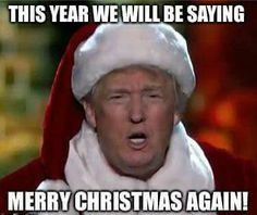 "Yes we will ...and a ""Happy New Year""...too! And also ❤️God Bless America!!!...and Thank you Father God for sending your precious Son to die for us...Jesus Christ ...The Real Reason for the Season! Amen"