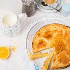 Ananas-Orangen-Schichtkuchen (Foto: Mona Lorenz) Mona, Ethnic Recipes, Pineapple, Easy Meals, Cooking, Food Food, Recipies