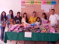 Como cada año, este sábado 26 de abril arrancó la colecta de juguetes Dona un juguete, dona una sonrisa que organiza la Universidad Americana de Morelos (UAM) para el festejo del día del niño,