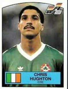 Chris Hughton of Rep of Ireland. Football Stickers, Football Fans, Republic Of Ireland, Tottenham Hotspur, Paninis, Baseball Cards, Retro, Irish, Figurine