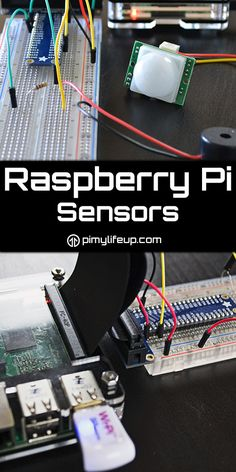 Sensors can easily be hooked up to the Raspberry Pi. This is perfect for anyone looking to gather more data about their surroundings.
