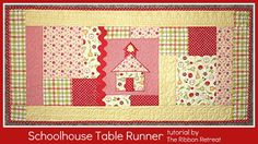 Use our easy step-by-step instructions to create an adorable table runner!