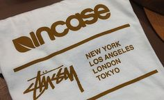 Incase x Stussy Collection Preview | Providermag