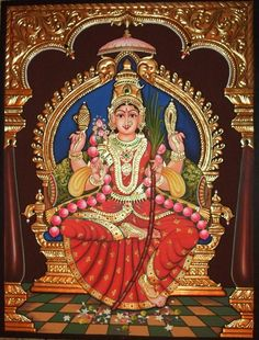 More Tanjore Paintings - Golden Streak Adorn Your Life with ART Kalamkari Painting, Tanjore Painting, Lord Shiva Painting, Ganesha Painting, Lord Rama Images, Hindu Deities, Hinduism, Krishna Art, God Pictures