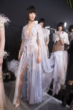 Ralph Russo | Spring 2017 Couture Fashion Show Backstage, Paris Couture Fashion Week, PFW, Runway, TheImpression.com - Fashion news, runway, street style