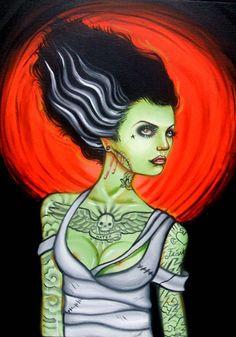 psychorockabilly:  Whitney Lenox